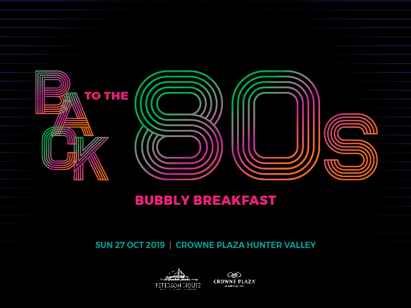 Bubbly Breakfast Goes Back To The 80's